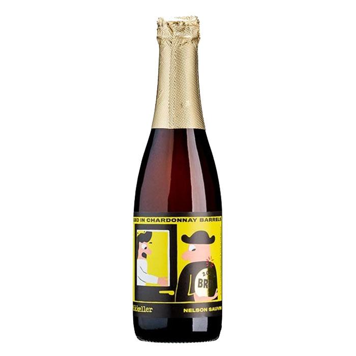 Mikkeller Nelson Sauvin BA Chardonnay 37,5 cl Birra Chiara Acida Gradazione Alcolica 9%
