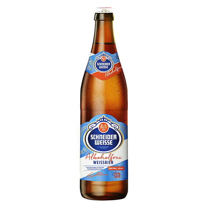 Schneider Weisse Alkoholfrei TAP 3 50 cl Birra Ambrata Dolce Analcolica Gradazione Alcolica 0%
