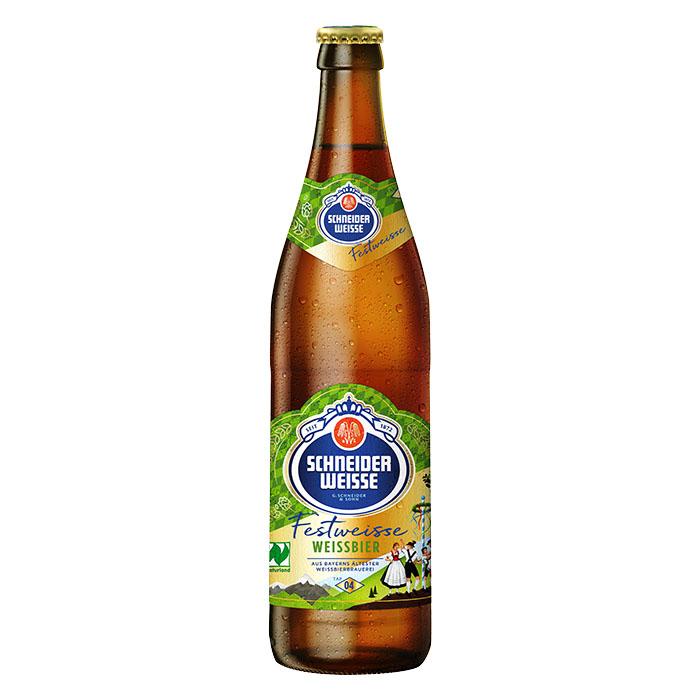 Schneider Weisse FestweisseTAP 4 50 cl Birra Chiara Dolce Gradazione Alcolica 6,2%