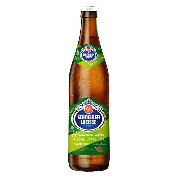 Schneider Weisse Hopfenweisse TAP 5 50 cl Birra Chiara Amara Gradazione Alcolica 8,2%
