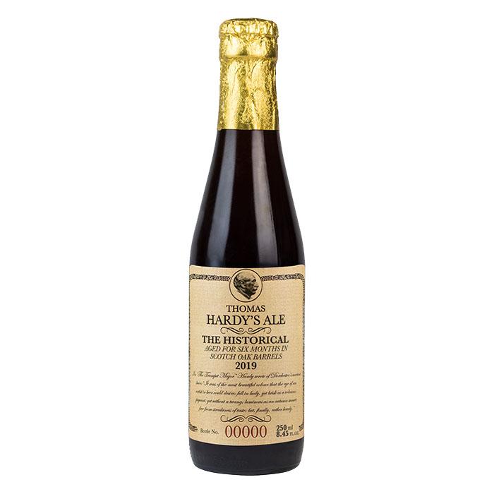 Thomas Hardy's Ale The Historical Vintage 2019 Birra Ambrata Amara Gradazione Alcolica 13,1%