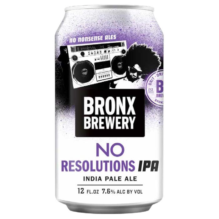 Bronx No Resolutions IPA Lattina cl. 35,5