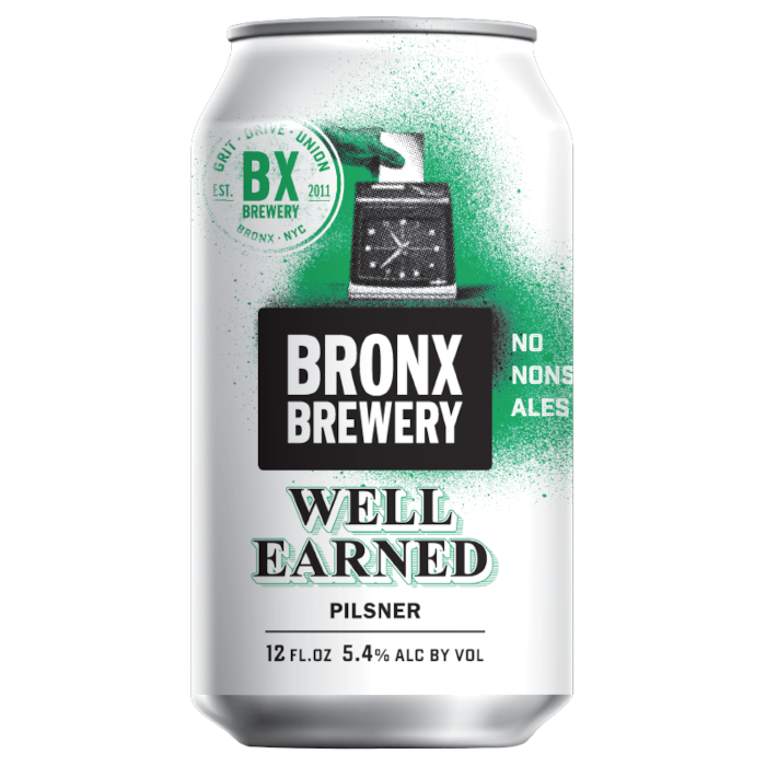 Bronx Well Earned Pilsner Lattina cl. 47,3