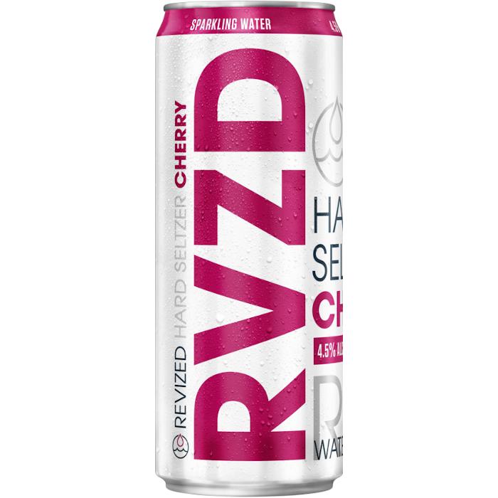Revized Hard Seltzer Cherry Lattina