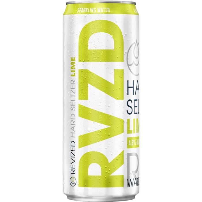 Revized Hard Seltzer Lime Lattina
