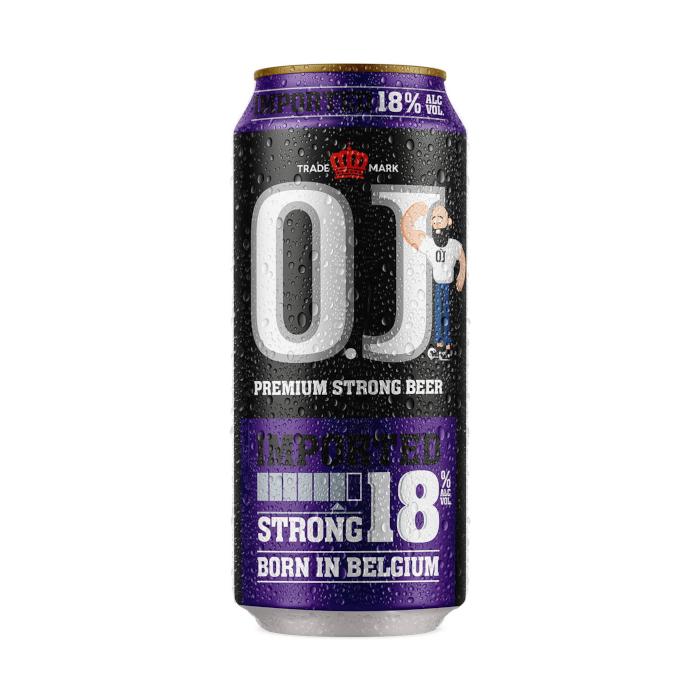 O.J. Strong 18% Lattina cl. 50