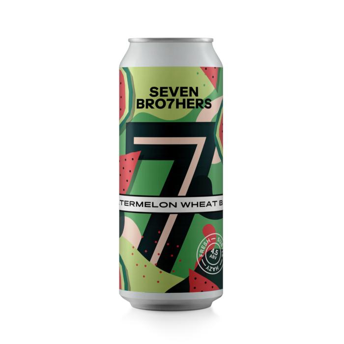 SEVEN BROTHERS WATERMELON WHEAT BEER - Latt. cl. 44
