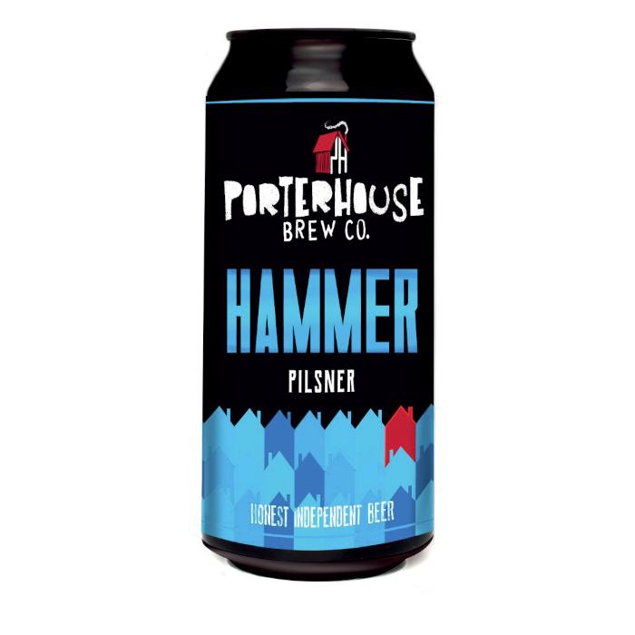 PORTERHOUSE HAMMER PILSNER